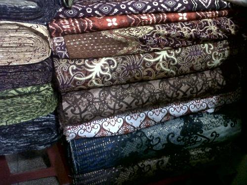 Kain batik Kalimantan