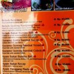 Kampung Daun menu page 2