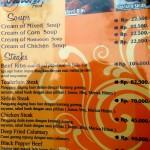 Kampung Daun menu page 4