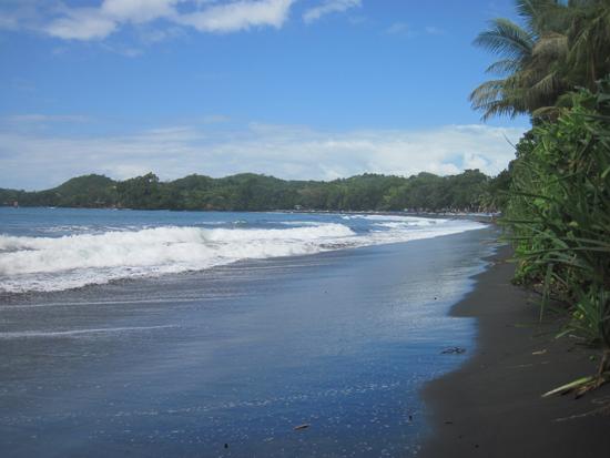 Beach at the front of Villa Monyet, Batu Karas