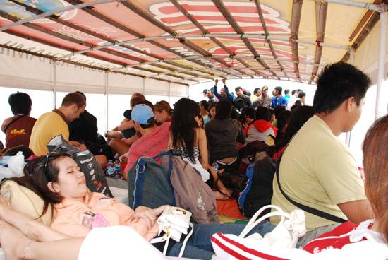 Kapal umum to Kepulauan Seribu
