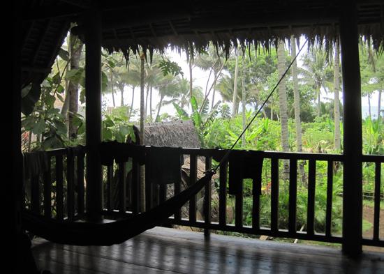Villa Monyet balcony
