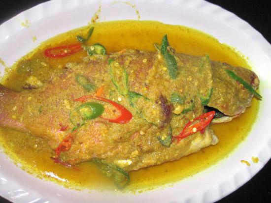 Makanan di Pulau Derawan