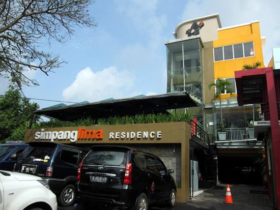 Simpang Lima Residence, Semarang - Tampak depan