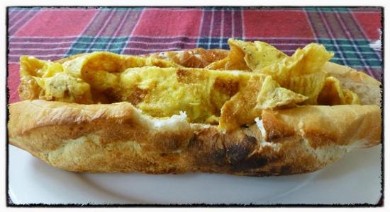Omelette Baguette