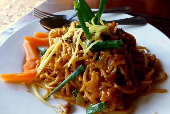 Spaghetti Bolognaise ala Laos
