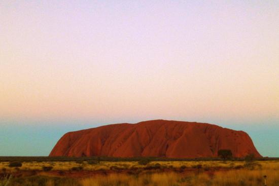 Sunset di Uluru