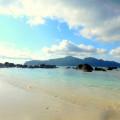 Pulau Umang-umang berpasir putih di kepulauan Krakatau