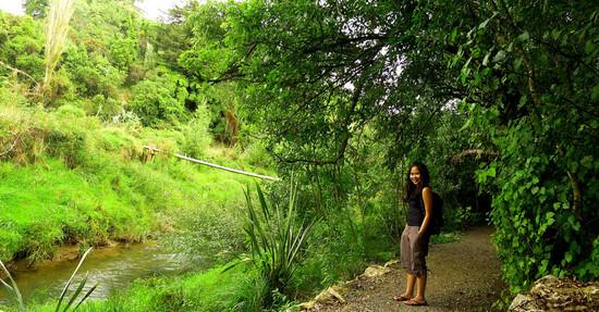 Trekking di Waitomo - New Zealand