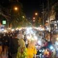 Keramaian di Chiang Mai Sunday Night Market