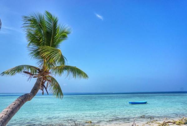 Pantai nan menggoda di Gulhi