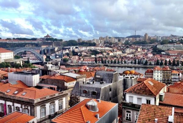 Pemandangan khas kota Porto