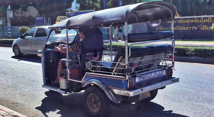 Tuk-tuk in Chiang Mai