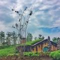 Rumah Hobbit di Farmhouse Susu Lembang