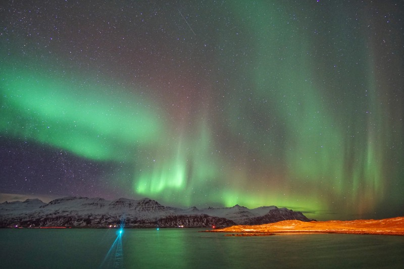 Aurora Borealis di Iceland