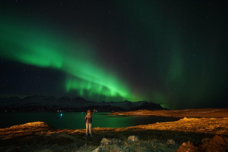 Hunting Aurora di Iceland