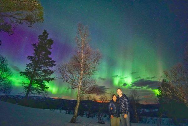 Aurora Borealis yang fenomenal di Norwegia