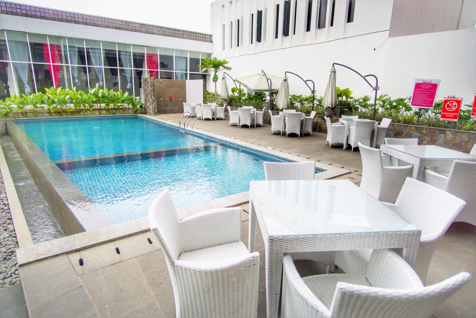Favehotel Cimanuk Garut kolam renang