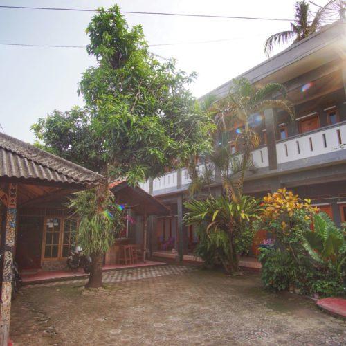 Bamboo House Pangandaran depan