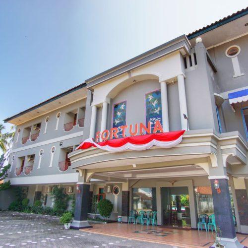Hotel Fortuna Pangandaran depan