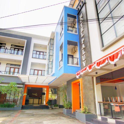 Hotel Paluvi Pangandaran depan