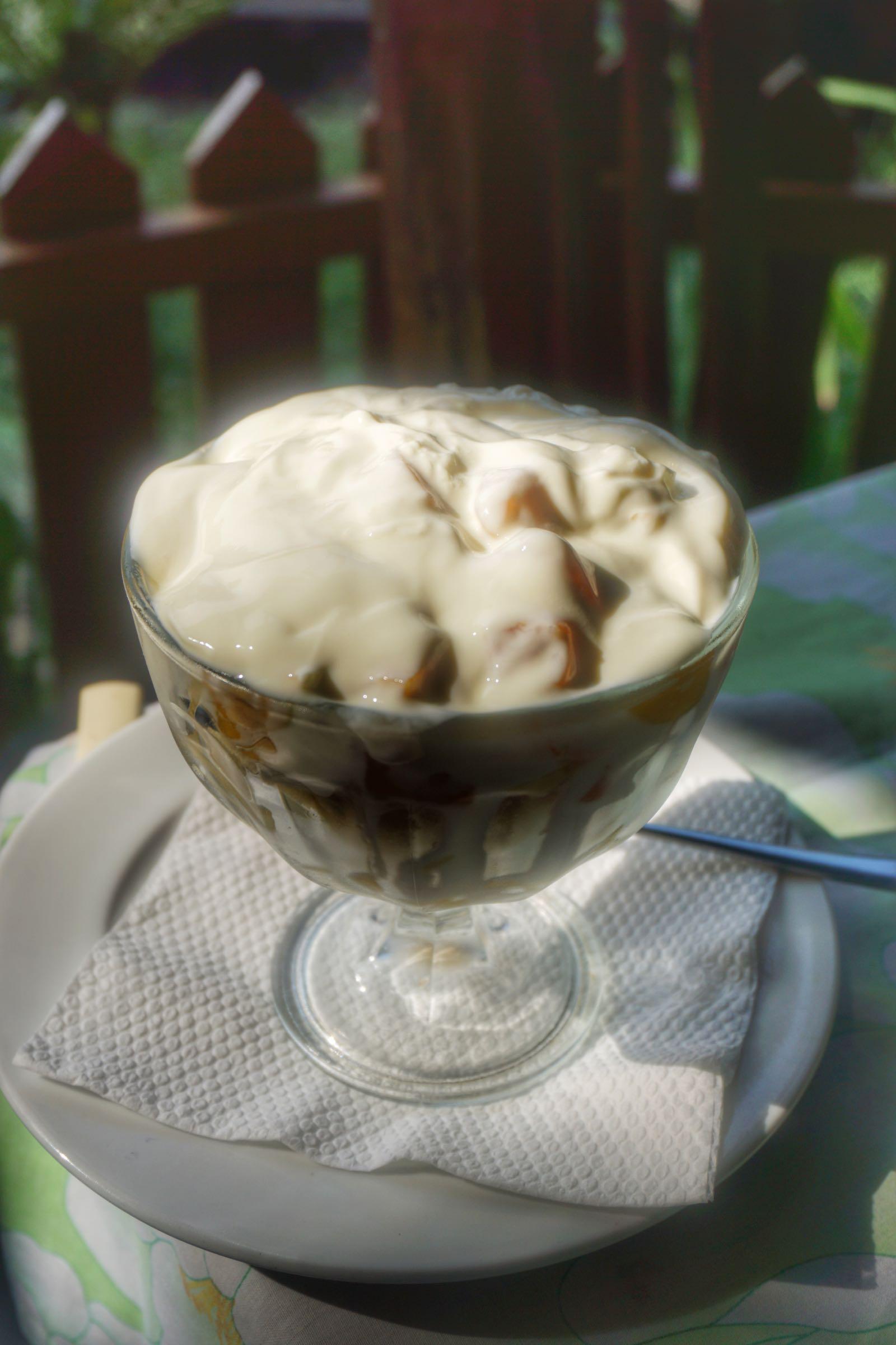 Restaurant Relax, Pangandaran fruit salad & yoghurt