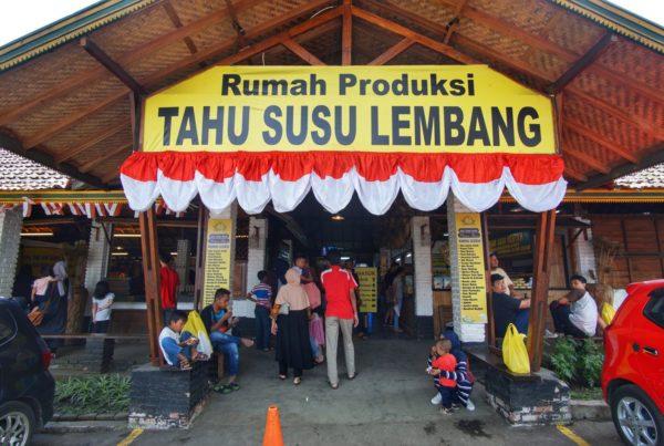Rumah Produksi Tahu Susu Lembang