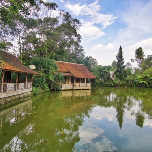 Sapu Lidi Resort Lembang Danau
