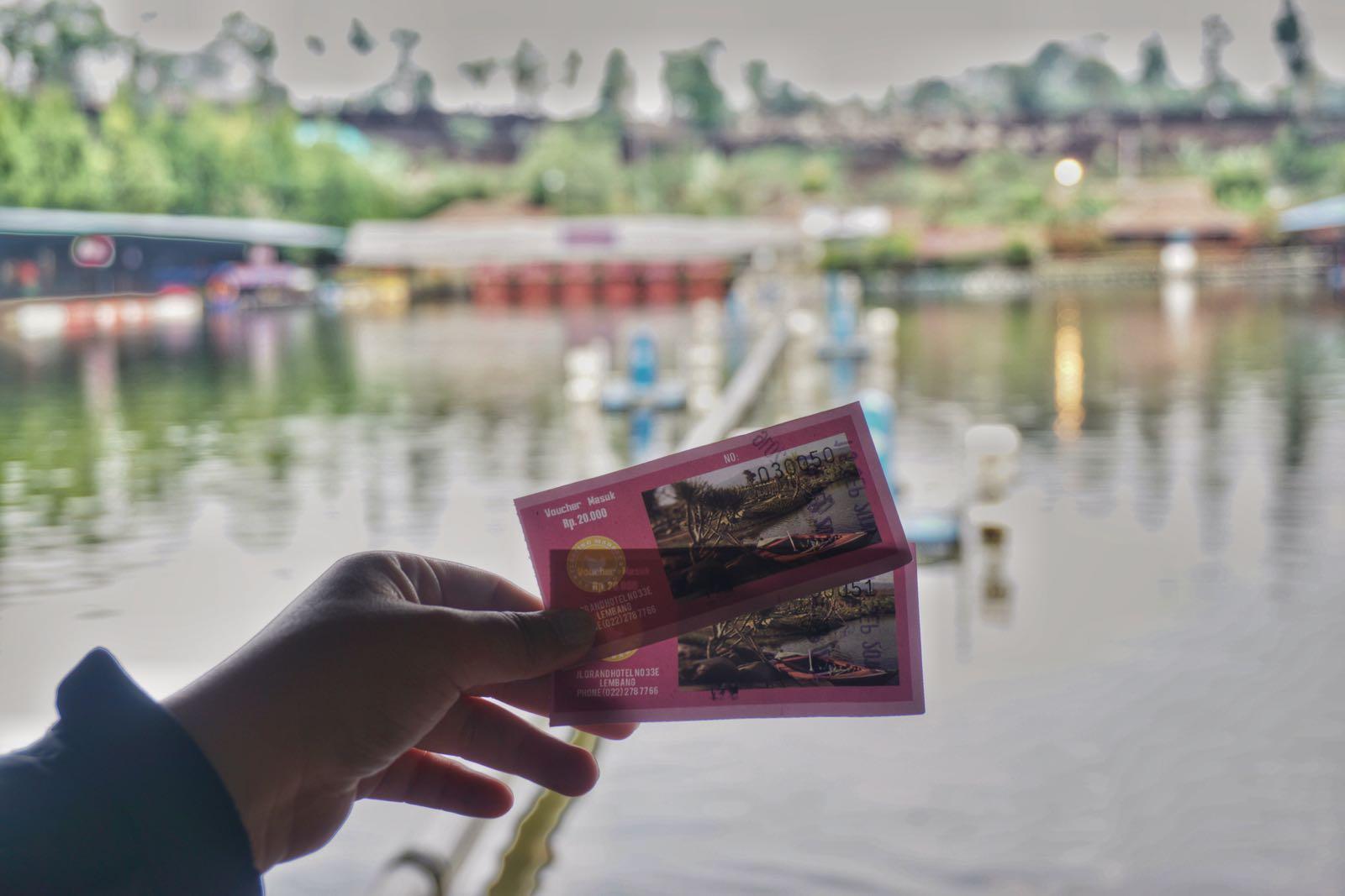 Tiket Masuk Floating Market Lemban