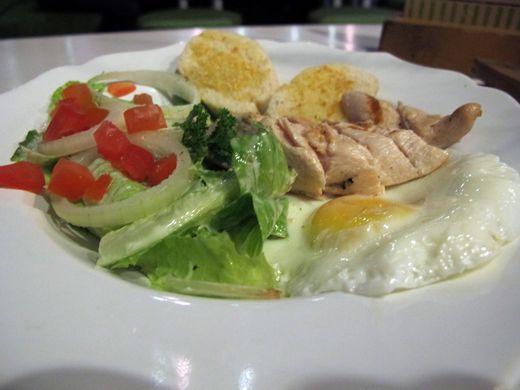 Nanny's Pavillon Garden - salad