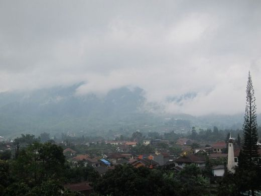 view from the room-Puncak Prima