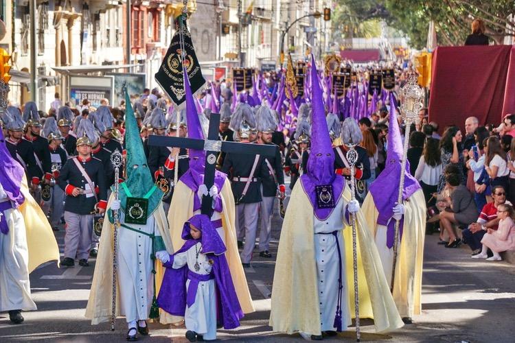 Perayaan Semana Santa di Malaga