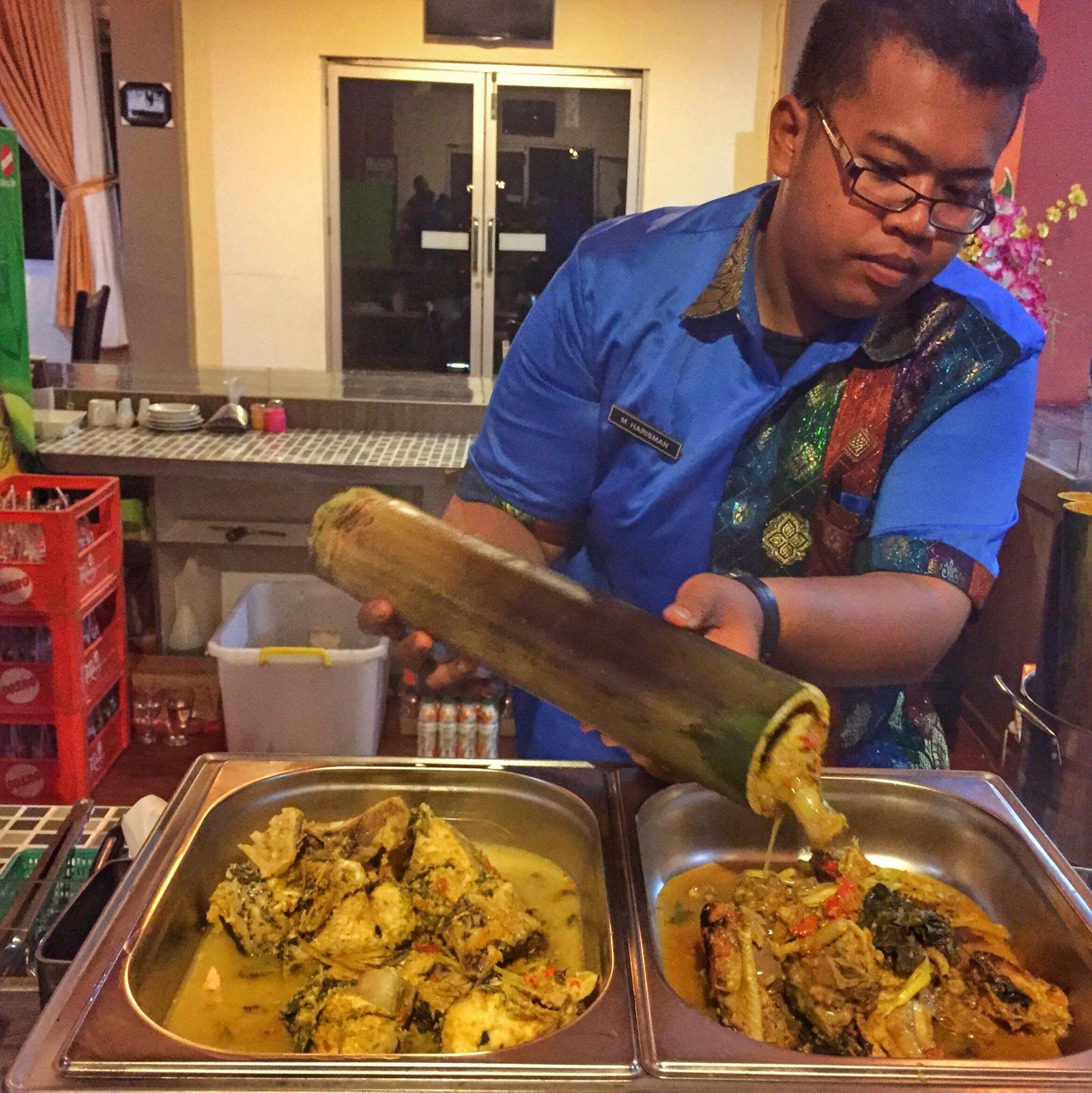 Ikan Dan Ayam Masak Bambu Khas Pagaralam