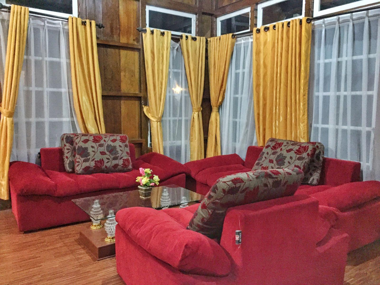 Ruang Tamu Di Cottage Besh