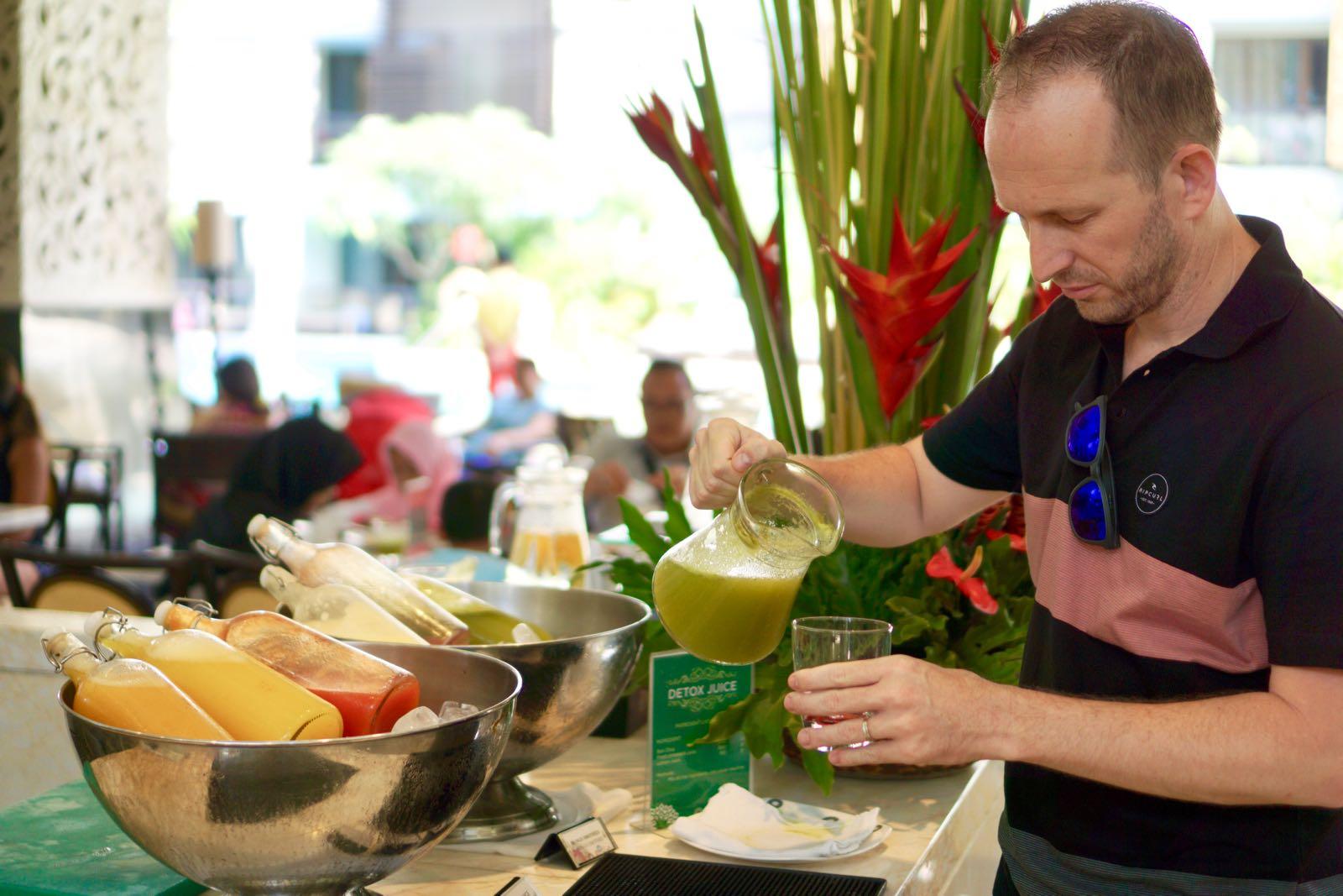 Green Detox Di Buffet Breakfast